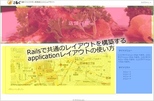 Rails】application html erbのレイアウトの使い方と使わない方法