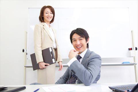 上司の男性と女性